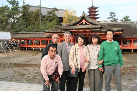 14_安芸の宮島、広島の岩森夫妻