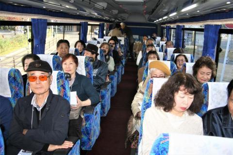 3_ JR福山駅北口を出発です