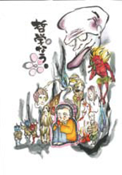 学祖の漫画似顔絵コンクール04